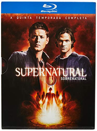 Supernatural Temp Blu ray Jared Padalecki