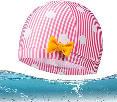 Cuffia per Bambini Cuffia Piscina Bambini per Capelli Lunghi Cuffie da Nuoto per Bambini Nuoto Cappello Cuffia da Nuoto per Bambini Cuffia Nuoto per Bambine e Bambini con Capelli Lunghi, R