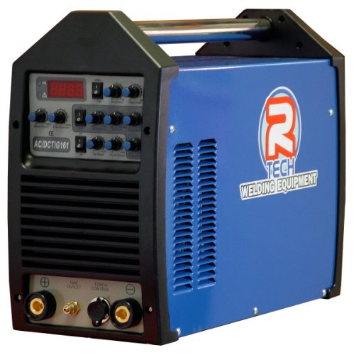 Tig Welder 160A AC/DC Inverter - R-Tech Tig161 Package 240v - 3 Year UK Warranty