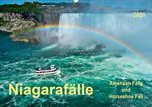 Niagarafälle - American Falls und Horseshoe Fall (Wandkalender 2021 DIN A2 quer)