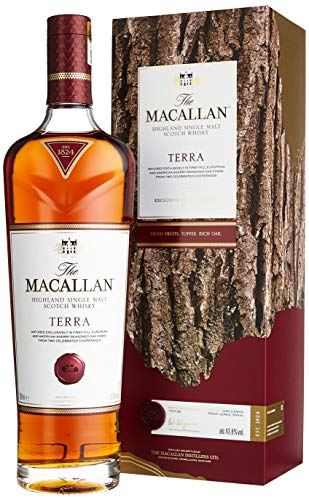 Macallan TERRA Highland Single Malt Scotch Whisky mit Geschenkverpackung (1 x 0.7 l)