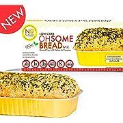 No Sugar Aloud, Low Carb OhSome Bread Mix (No sugar added, gluten free, Vegan, Keto and Diabetic friendly)