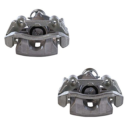 AutoShack BC2952PR Rear Brake Caliper Pair 2 Pieces Fits Driver and Passenger Side