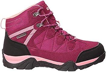 Mountain Warehouse Rapid Kids Waterproof Boots - for Girls & Boys Berry Kids Shoe Size 5 US