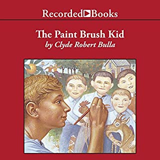 The Paintbrush Kid audiobook cover art