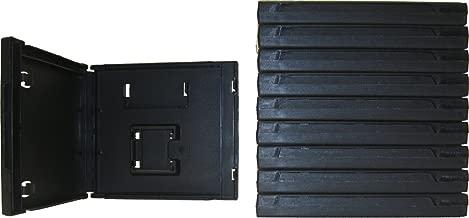 (10) Standard Black Nintendo DS Empty Replacement Game Cases Boxes VGBR14DSBK