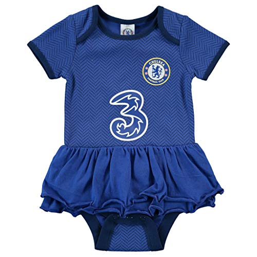 CFC Chelsea Baby Girls Tutu | 2020/21 (0-3 Months) Blue