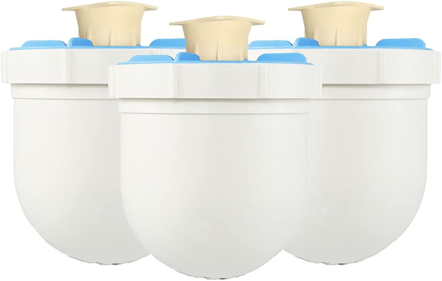 3 Pack of Clearly Filtered Water Pitcher Replacement Filters