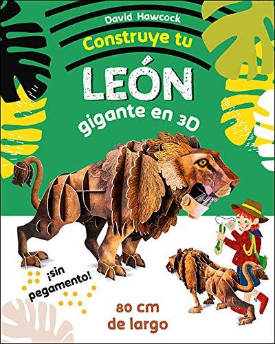 Construye Tu Leon Gigante En 3D (Aprender, jugar y descubrir)