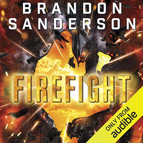 Firefight audiobook cover art