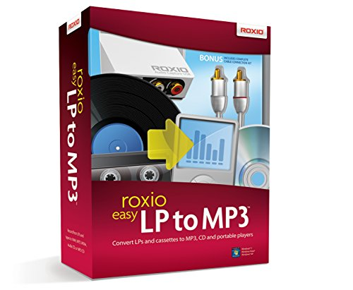 Roxio Easy LP to MP3   LP and Cassette to CD or MP3 Audio Converter [PC Disc]