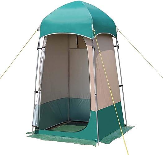 LuLSport Toilette Vestiaire Portable, Tente Instantanée de Douche, Tente de Changement Toilette extérieur Camping Portable Instantanée et Pliable, 51.18  51.18  86.61in