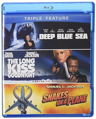Deep Blue Sea / Long Kiss Goodnight / Snakes On A [Edizione: Stati Uniti] [USA] [Blu-ray]