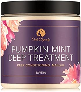 Curls Dynasty Pumpkin Mint Deep Treatment Masque (8 oz.)