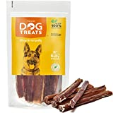 100% Natural 6-inch Premium Quality Bully Pizzle Sticks for Dogs, 10 Pieces