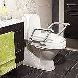 Etac Toilettensitzerhöhung, verstellbar, mit Armlehnen - 4
