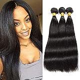 BLISSHAIR MECHES Bresiliennes extensión cabello natural negro Natural 3 Bundles 8 '8' 8