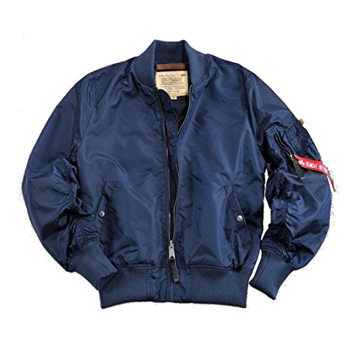 Alpha Industries - MA-1 TT Bomberjacke rep. Blue (S)