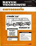 REVUE TECHNIQUE CARROSSERIE N° 83 CITROEN C25 / PEUGEOT J5