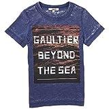 Gaultier - Camiseta de manga corta - para niño Azul azul 12 años