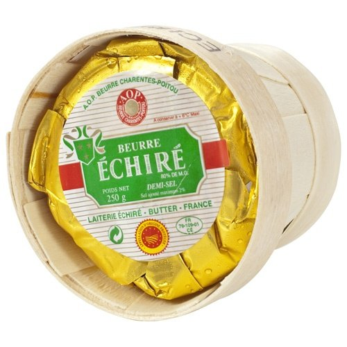 Echire Butter In A Basket, Salted - 1 x 8.8 oz