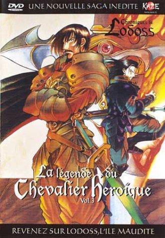 Chroniques de la guerre de Lodoss - La légende du chevalier héroïque - Volume 3 - 5 épisodes VOSTF
