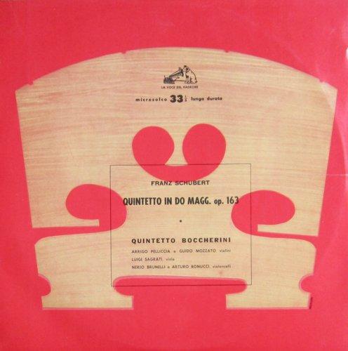 Schubert: Quintetto in Do Maggiore, op. 163 (Streichquintett C-dur, D.956) [Vinyl LP] [Schallplatte]