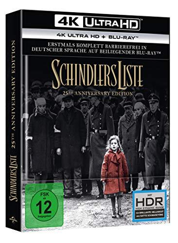 Schindlers Liste - 25th Anniversary Edition (4K Ultra HD) (+ Blu-ray 2D)