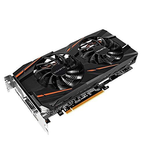 Gigabyte Radeon RX 580 Grafikkarte (8 GB) Schwarz
