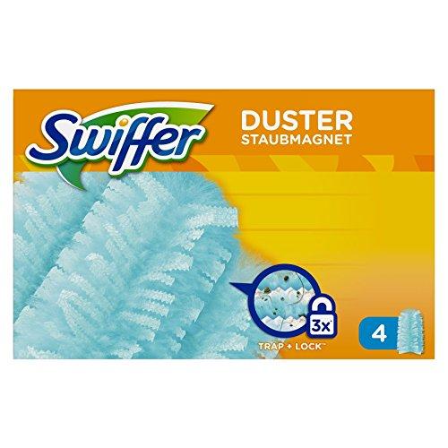 Swiffer Staubmagnet Nachfüller, 4 Tücher