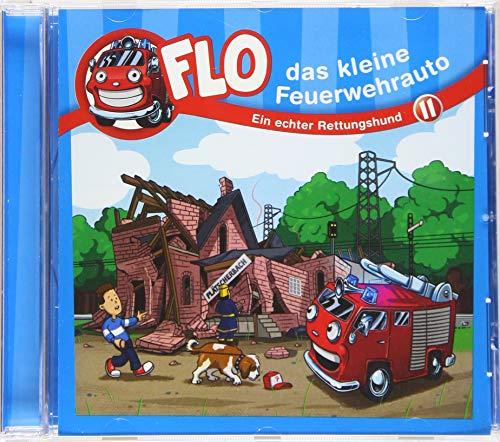 Flo - das kleine Feuerwehrauto: Ein echter Rettungshund (11) (FLO - DAS KLEINE FEUERWEHRAUTO, 11, Band 11)