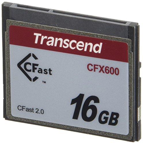 TRANSCEND 16GB CFast 2.0 SATA3 MLC Industrie
