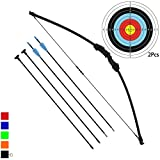 Junxing Archery, Panda-R - Set arco e frecce, Nero