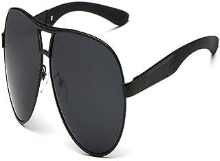 FRGTHYJ - FRGTHYJ piloto Polarizado Hombres Hombres Gafas de Sol Hombres Conducción Gafas de Sol Hombre piloto Gafas de Sol para Hombres Marca Moda Retro Recubrimiento A
