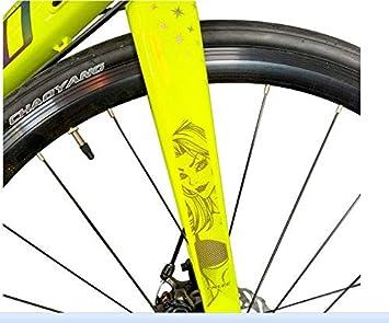MEGHNA Bike Frame Guard Protecter Waterproof Sticker Decals High Impact PVC Material Bike Stickers Decals