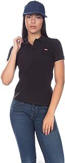 Camisa Polo Levis Feminina Classic Batwing Woman Preta 2ca0c73d51d10