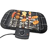 Beini Portable Electric Smokeless Portable BBQ Indoor Barbecue Grill Water Filled Drip Tray