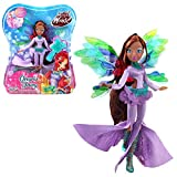 Winx Club Layla | Onyrix Fairy Muñeca World of Winx | Traje Mágico | 28 cm