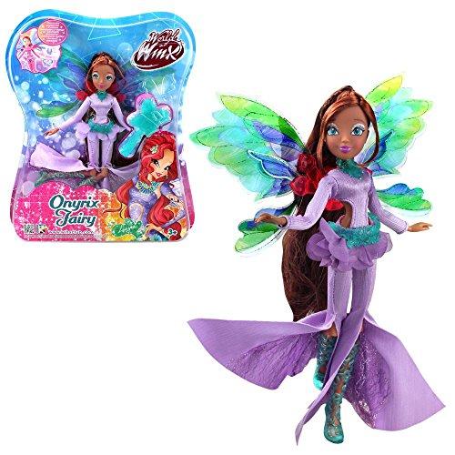 Winx Club Layla | Onyrix Fairy Puppe World of Winx | Magisches Gewand