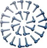 Maple Sap Tap Spile Blue, 5/16' Ecolo Spouts, Maple...