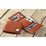 Kingport American Bison Buffalo Nickel Men's Trifold Wallet
