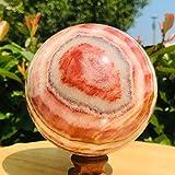 ABCBCA Minerale di Cristallo del Quarzo della Palla rodocrosite Naturale (Size : 55 60mm)