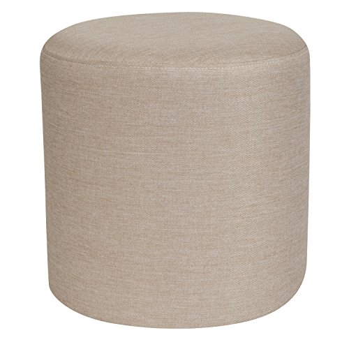 Flash Furniture Barrington Upholstered Round Ottoman Pouf