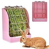 hanbby Heno Conejos Comederos Conejos Pequeño Animal alimentador Conejo de...