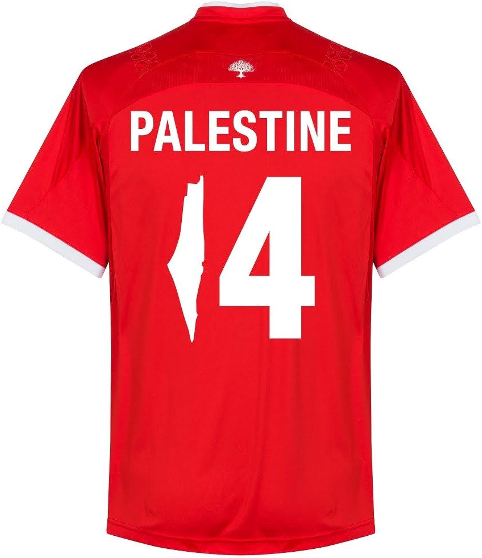 Romai Palestine Home Jersey 2016 2017 + Palestine 14 (Fan Style Printing)