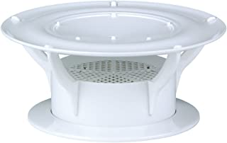 Lippert Components 389381 White 360 Siphon Odor Eliminating RV Holding Tank Vent Cap, Universal Fit