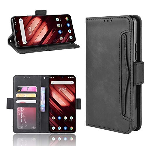 Custodia® Flip Wallet Case Compatible for Umi UMIDIGI F1/Umi UMIDIGI F1 Play(Pattern 1)