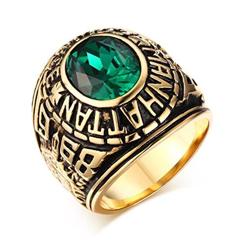 VNOX Edelstahl Dichtungsring Siegelband Ring für Männer Junge