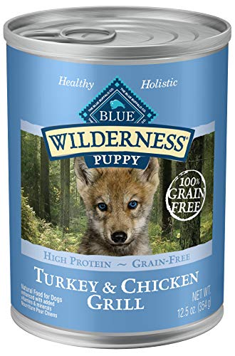 Is Blue Wilderness Food for Puppies?