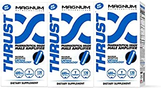 Magnum Nutraceuticals | Mens Pharma-Grade Testosterone Booster. Build Stamina, Endurance & Strength. Pure, natural power supplement. Qty 3. FREE SHIPPING